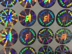 Acrylic Two Dimensional Hologram Stickers