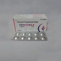 Thycoxy Etoricoxib And Thiocolchicoside Tablets