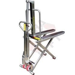 SS High Lift Pallet Truck