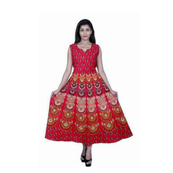 Rajasthani Print Dress