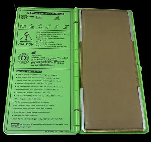 Foot Care Products - Foot Imprinter Harris Mat Manufacturer