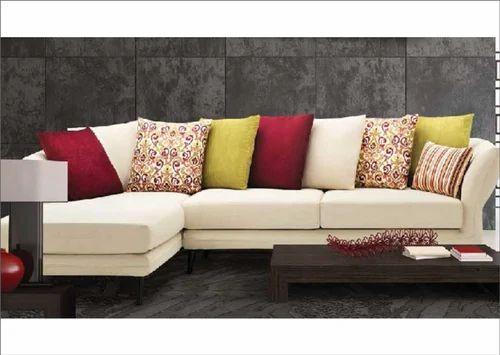 7 Seater Wooden L Shape Sofa Set Dimensions 1930 X 940 865