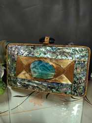 Marble Rectangular Clutches