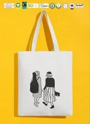 Biodegradable Canvas Print Bag