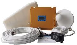 Tri Band Mobile Signal Booster Free Installation