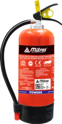 Mitras DCP Fire Extinguisher For Industrial, Capacity: 9 Kg
