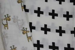 Printed Organic Cotton Baby Wraps