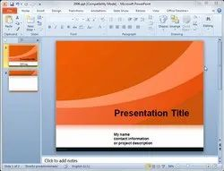 Power Point Presentations Services