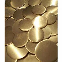Brass Plain Circle