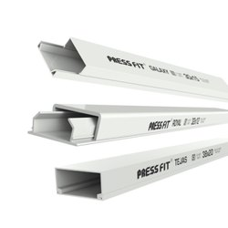 Press Fit - PVC Casing Capping Trunking