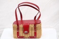 Cane Picnic Basket 12 x 6 x 6 (Inch)