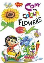 Copy To Colour Flowers