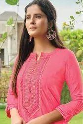Kessi Rangoon Light Line Fancy Lining Silk With Work Kurtis Catalog
