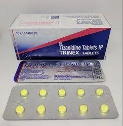 Trinex 2mg Tizanidine