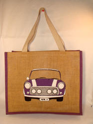 Printed Dyed Jute Bag