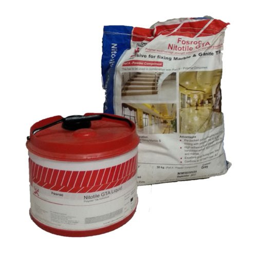 Fosroc Nitotile GTA Tile Adhesive, Packaging Size: 30kg (part A Powder Component), for Marble & Granite