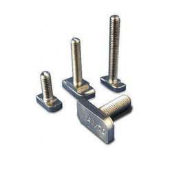 Round Tee Bolt, For Industrial, Size: M8 To M24