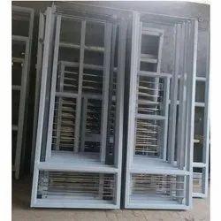 Gi Powder Coated Galvanized Metal Doors