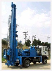 PDTHR-1000 Bore Well Drilling Rigs - Only Mounting