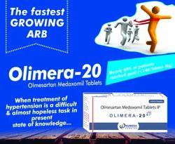 Olmesartan Medoxomil 20 mg Tablet