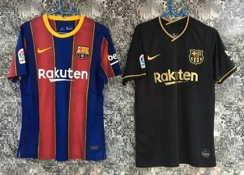 Half Sleeves Football Kd 20 21 New Season Fc Barcelona Home Away Third Master Jersey Rs 549 Piece Id 20499982748