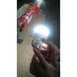 Round Rechargeable AC Bulb, Base Type: B22