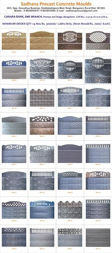 Precast Compound Wall New Design Package With Bulk Buying