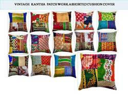 Patch Work Kantha Pillow Cushion Covers