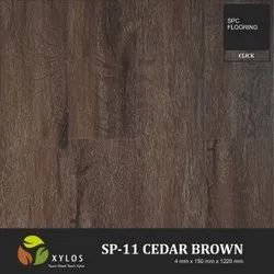 Cedar Brown SPC Wooden Flooring