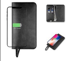Power Bank Wireless Charger Wallet