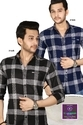 Mens Full Sleeve Checked Shirts