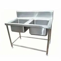 SS Kitchen Double Sink