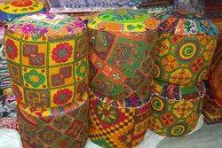 Rajasthani Puff Stool