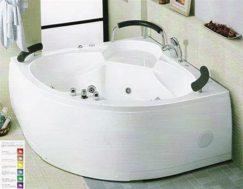 Abs Corner Jacuzzi Bath Tub Rs 34500 Set Sterling