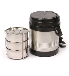 AADYA Stainless Steel Insulated Lunch Box, For Office