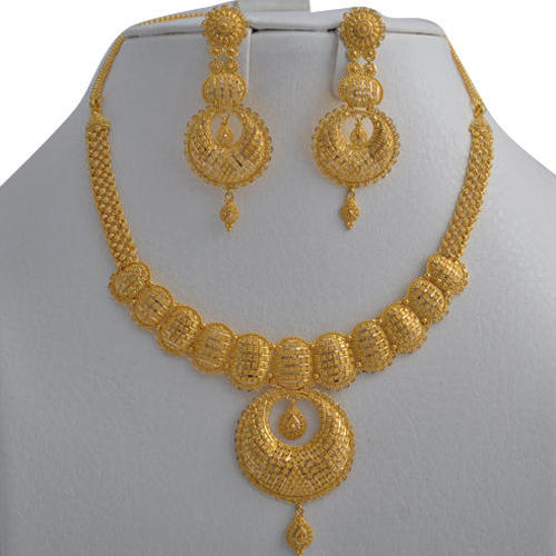 Stylish Gold Necklace Set View Specifications Details Of Gold