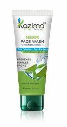 Herbal Kazima Neem Face Wash, Gel, Packaging Size: 100 Ml