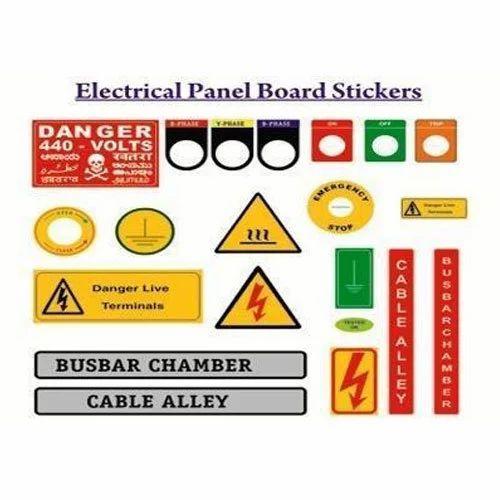 manufacturer of electrical board sticker  u0026 garments label