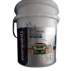 White Asian Ultima Protek Base Coat Emulsion Paint, Packaging Size: 20 Liter
