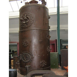 Used Vertical Cross Tube Boiler