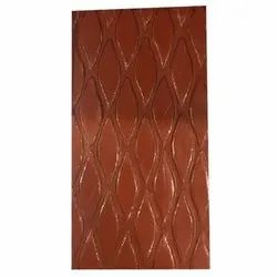 WBP Wire Mesh Chequered Plywood, Size: 8foot X 4 Foot