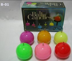 Ball 2 (Set Of 6) Candle