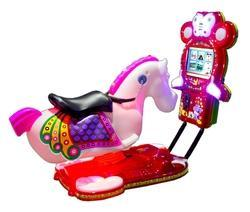 3D Video Horse Kiddy Ride