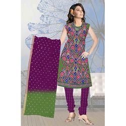 Fancy Bandhani Print Suit
