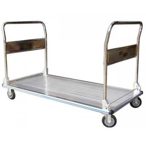 SS Double Ended Platform Trolley