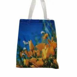 Printed Non Woven Hand Bag, For Shopping