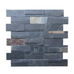 Polished Stone Planet Jakarana Black Slate, Thickness: 1-7 inch