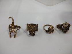 Brass Animal Ring
