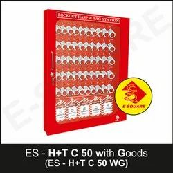 Lockout Hasp And Tag Cabinet