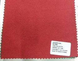 100% Polyester Lacoste Knit Fabrics 240 GSM